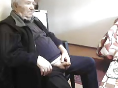 grandpa 82yo stroke and younger help him (part 1)