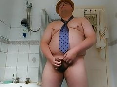 Chubby Guy's 47th cumshot